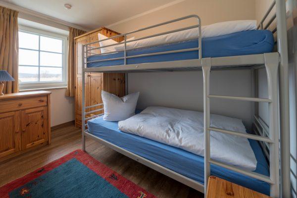 Kinderzimmer der Ferienwohnung Landhaus am See in Neuensien auf Rügen