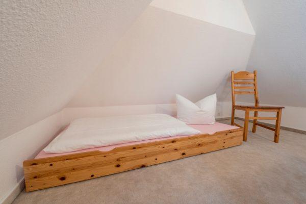 Kinderschlafzimmer in der Ferienwohnung Landhaus am See in Neuensien auf Rügen