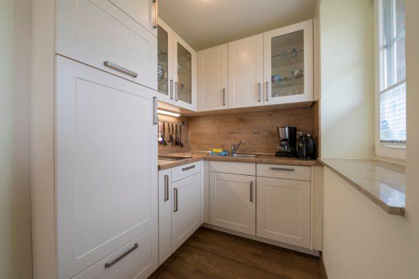 Küche der Ferienwohnung Neuensien in Seedorf auf Rügen